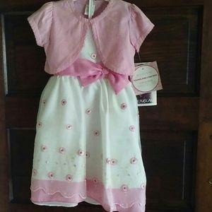 NWT Girls Dress 5T